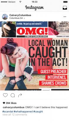 Scandalous Grace Woman Caught in Act
