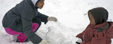 What playing in the snow taught me about eternity
