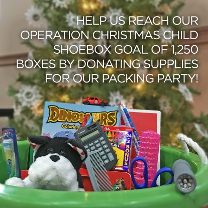 join us for our operation christmas child packing party on saturday november 3rd from 1000 am to noon in the cafeteria - Operation Christmas Child Packing List