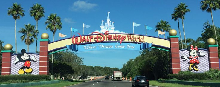 Disney Gate Post